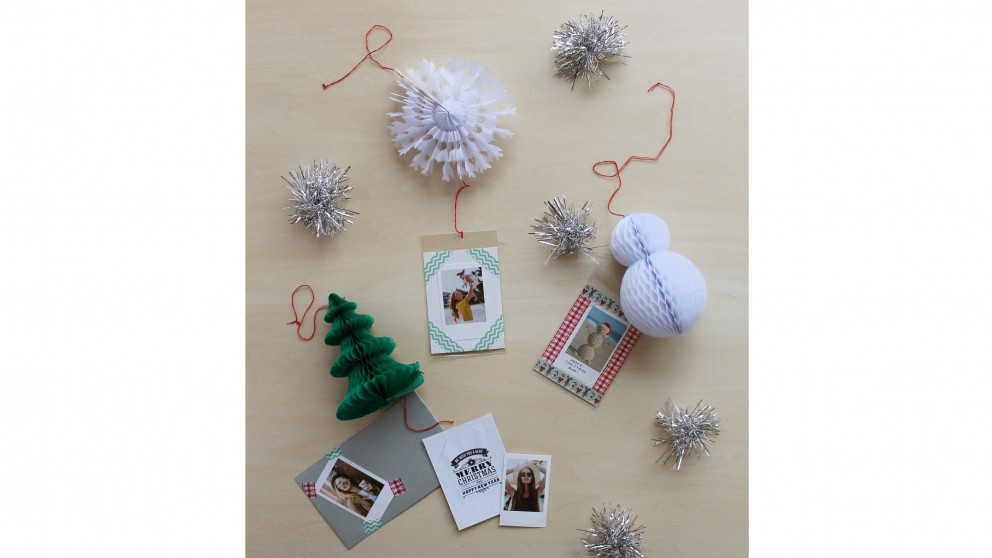 Instax Christmas Card - Snowflake