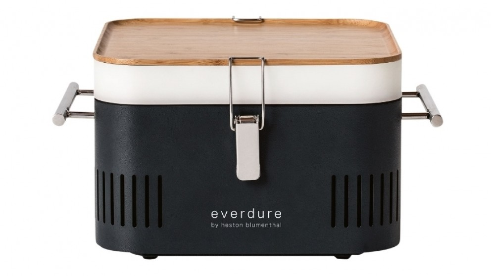 Everdure by Heston Blumenthal CUBE Charcoal BBQ - Graphite