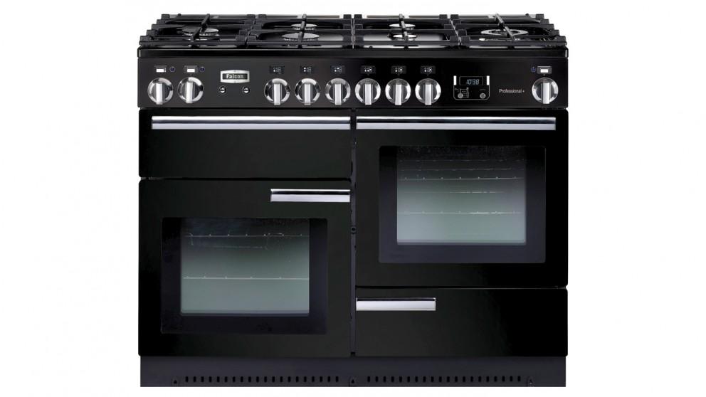 Falcon Professional+ 1100mm Dual Fuel Freestanding Cooker - Black