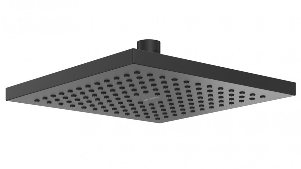 Methven Rere Square Drencher Overhead Shower - Matte Black
