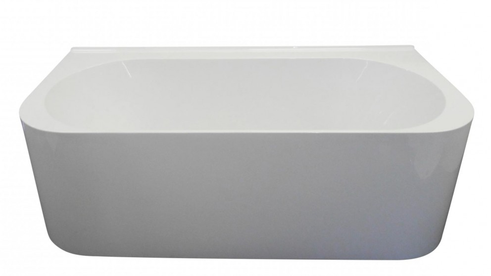 Ledin Kira 1600mm Back to Wall Freestanding Bath
