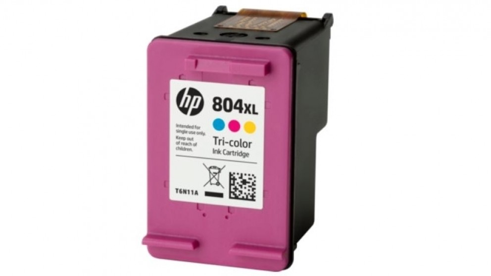 HP 804XL High Yield LaserJet Tri-color Original Ink Cartridge