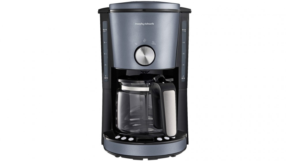 Morphy Richards Evoke Special Edition Filter Coffee Maker - Steel Blue