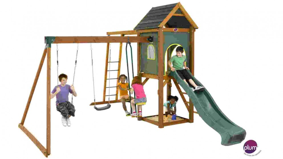 Plum Kudu Wooden Playground