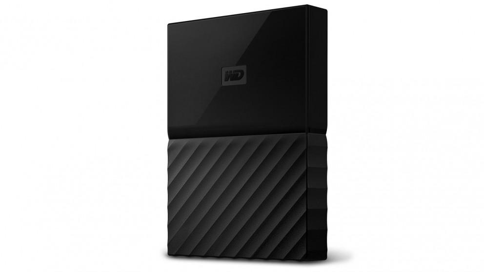WD My Passport 2017 2TB Portable Hard Drive - Black