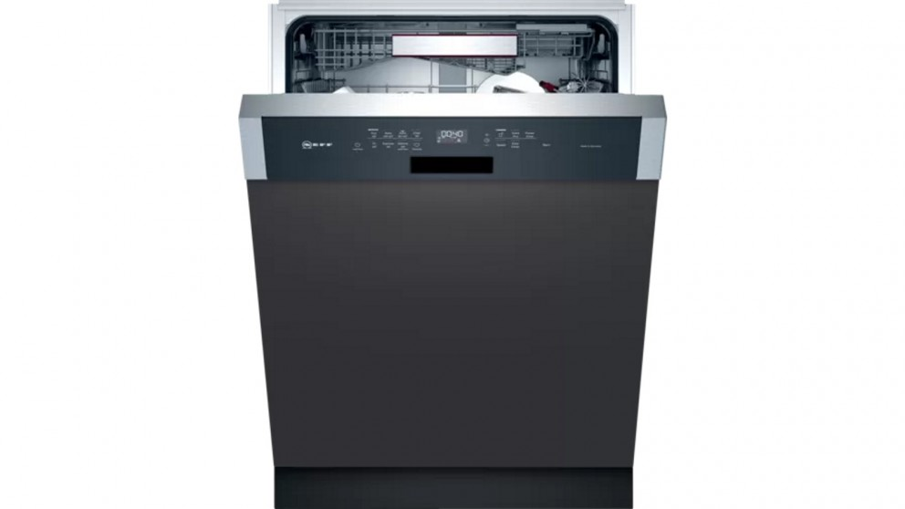 NEFF N 70 60cm XXL Semi-Integrated Dishwasher with Home Connect - Stainless Steel