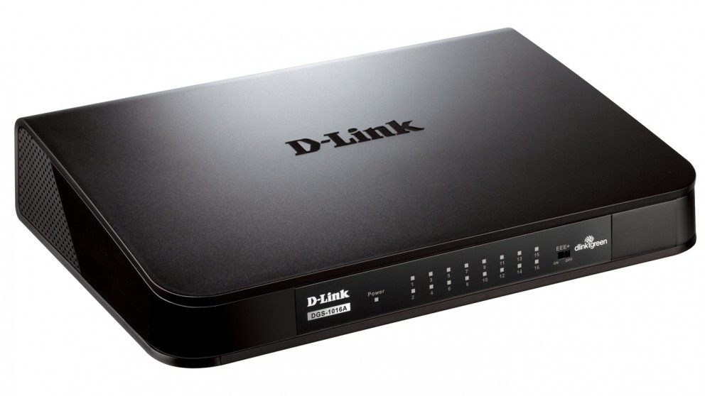 D-Link 16P Unmanaged Gigabit Desktop Switch