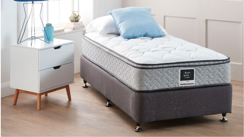 King Koil Calvin Single Mattress with Matching Designer Base