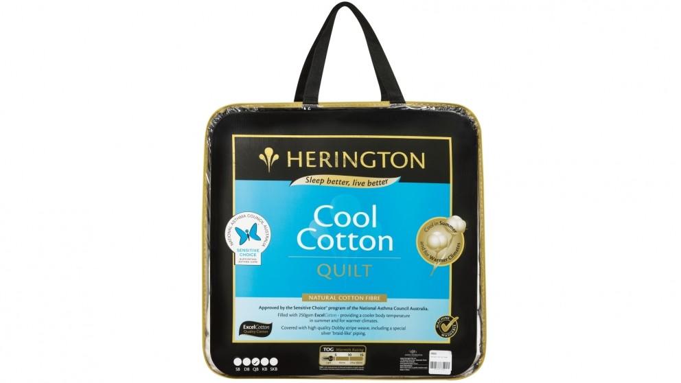 Herington Cool Cotton Single Quilt