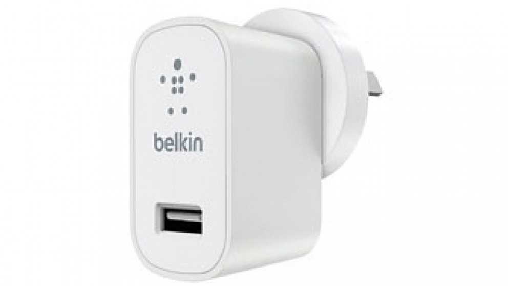 Belkin MIXIT Universal USB Wall Charger - White