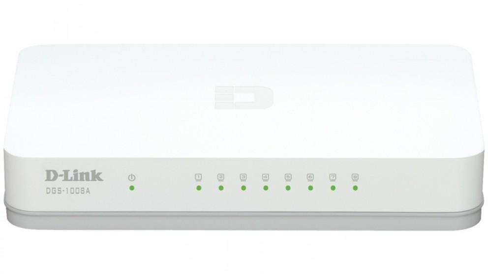 D-Link 8 Port Gigabit Desktop Switch