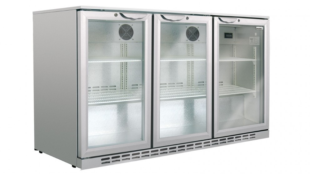 Husky 307L Triple Door Alfresco Bar Fridge