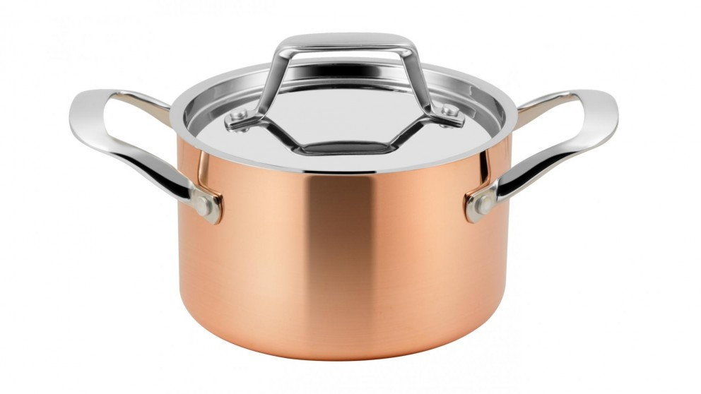 Lassani High Casserole with Lid and Induction Bottom