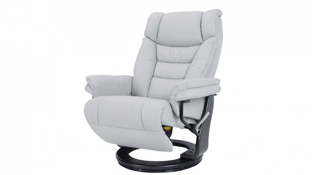 Buy Sven Leather Swivel Recliner Harvey Norman Au