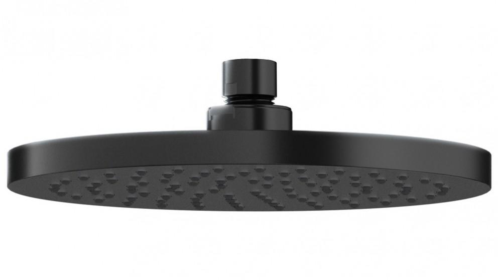 Methven Krome 20cm Round Drencher Shower Head - Matte Black