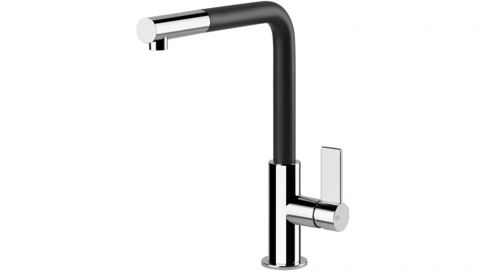 Gessi Emporio Pull Out Kitchen Mixer - Black