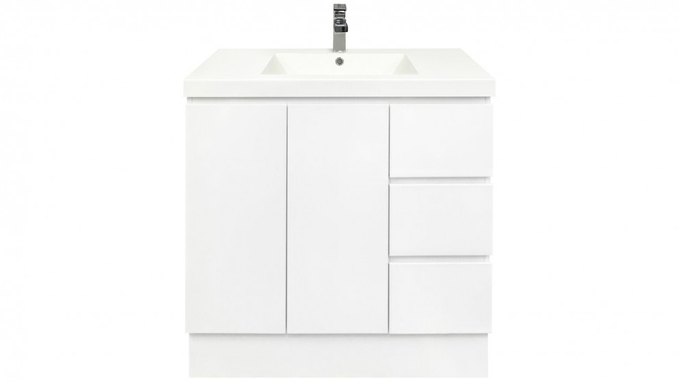 Forme Fifth Avenue 1200mm Right Side Drawer Free Standing Vanity