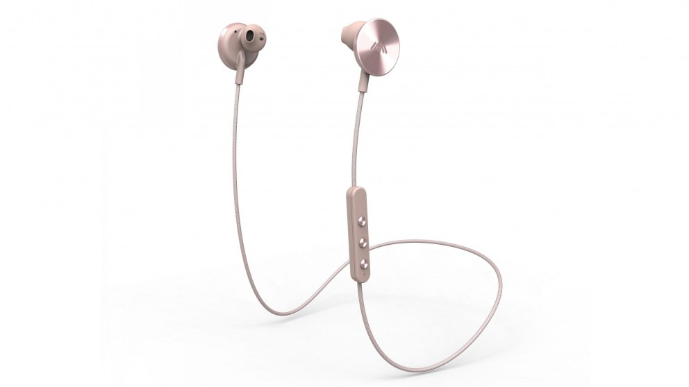 i.am+ Buttons Bluetooth In-Ear Headphones - Rose Gold
