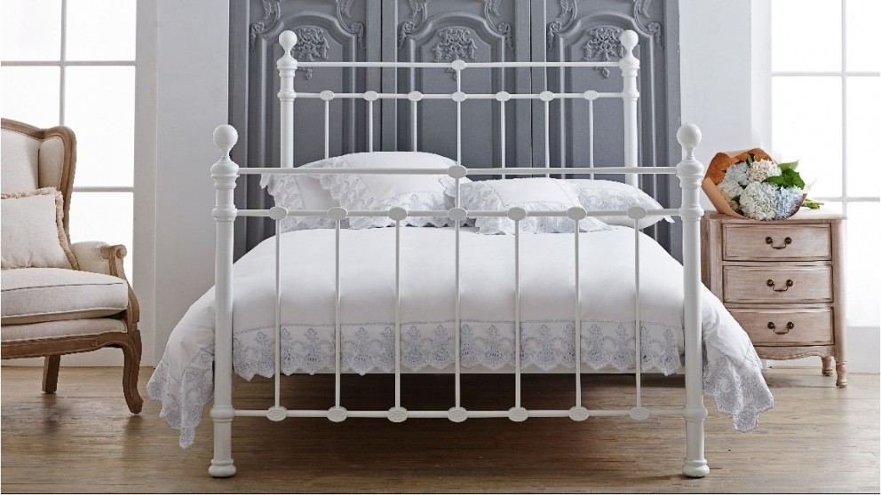 Waterford Bed - White