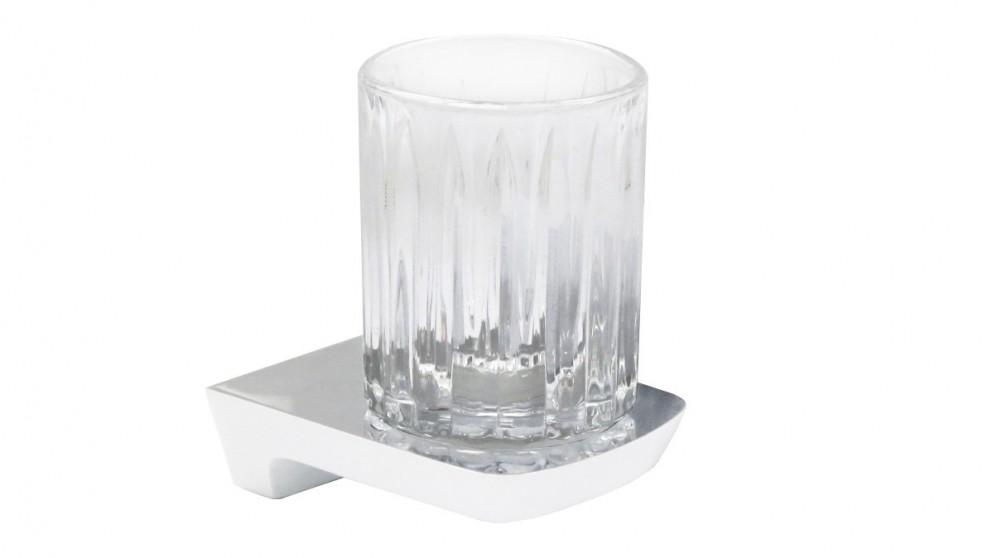 Arcisan Synergii Glass Holder - White/Chrome