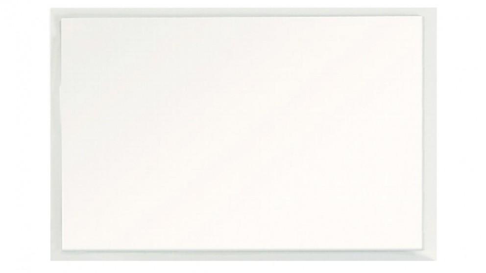 Ledin 1200mm Framed Mirror - White Gloss