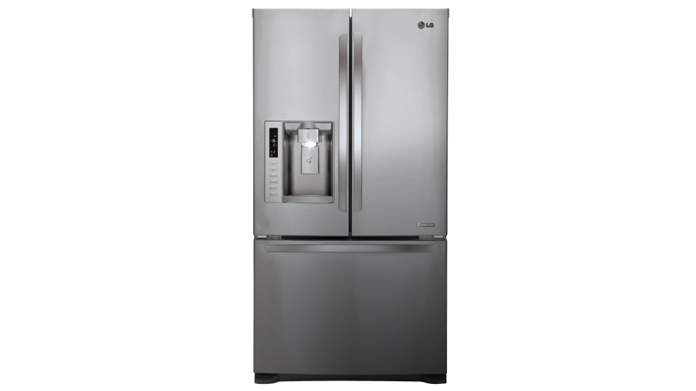 Buy Lg 613l French Door Fridge With Ice Amp Water Dispenser