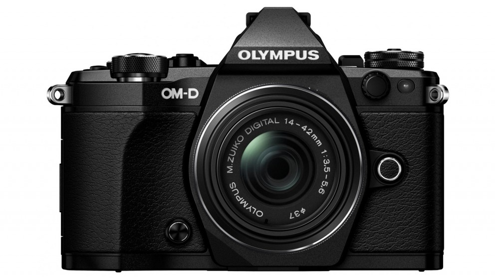 Olympus OM-D E-M5 MKII Mirrorless Camera with 14-42mm Lens Kit