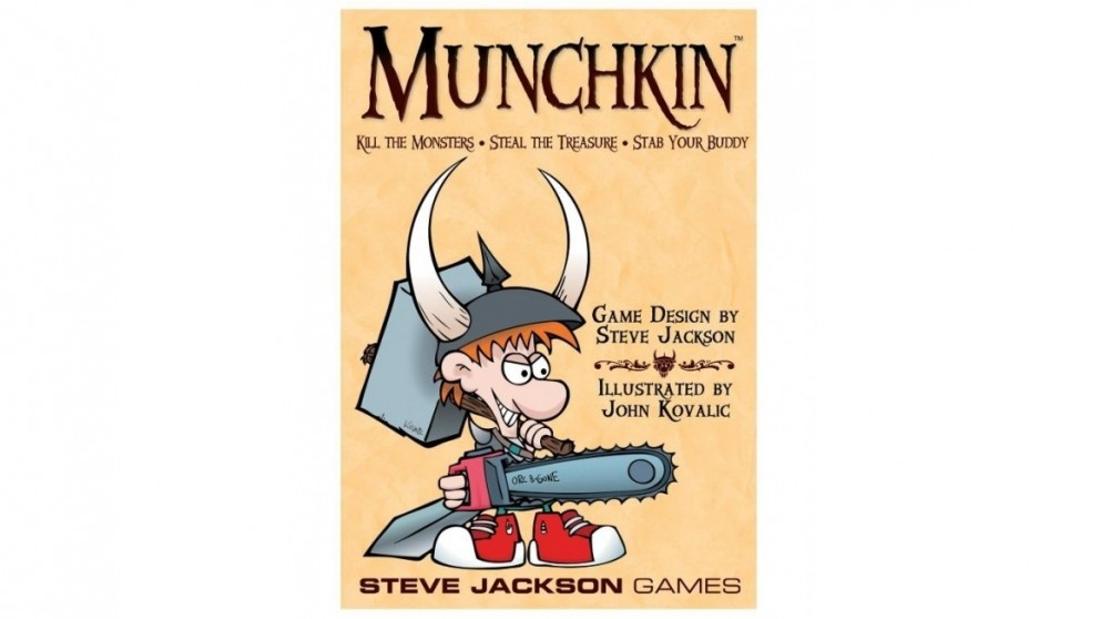 Munchkin Card Game 2010 Revised Edition Board Game