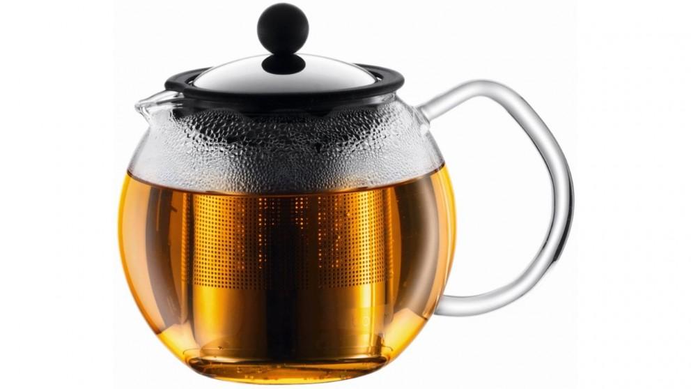 Bodum 500ml Assam Tea Press with Stainless Steel Filter - Chrome