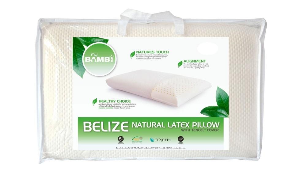 Bambi Belize Natural Latex Medium Pillow