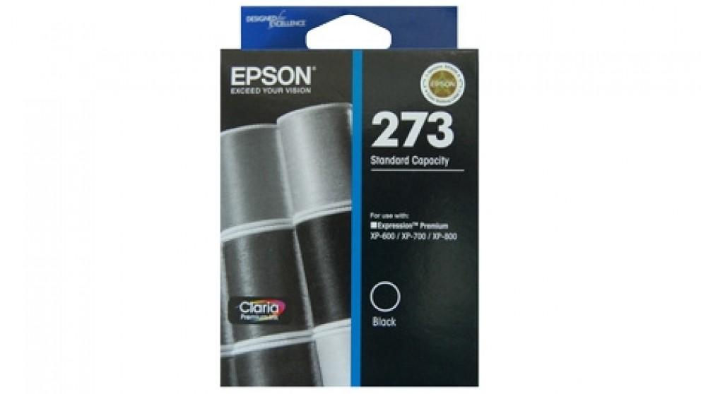 Epson 273 Standard Capacity Claria Premium - Black Ink Cartridge
