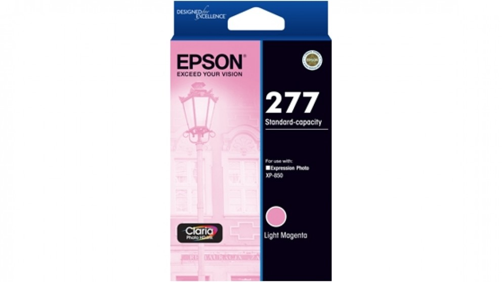 Epson 277 Std Capacity Claria Photo HD Ink Cartridge - Light Magenta