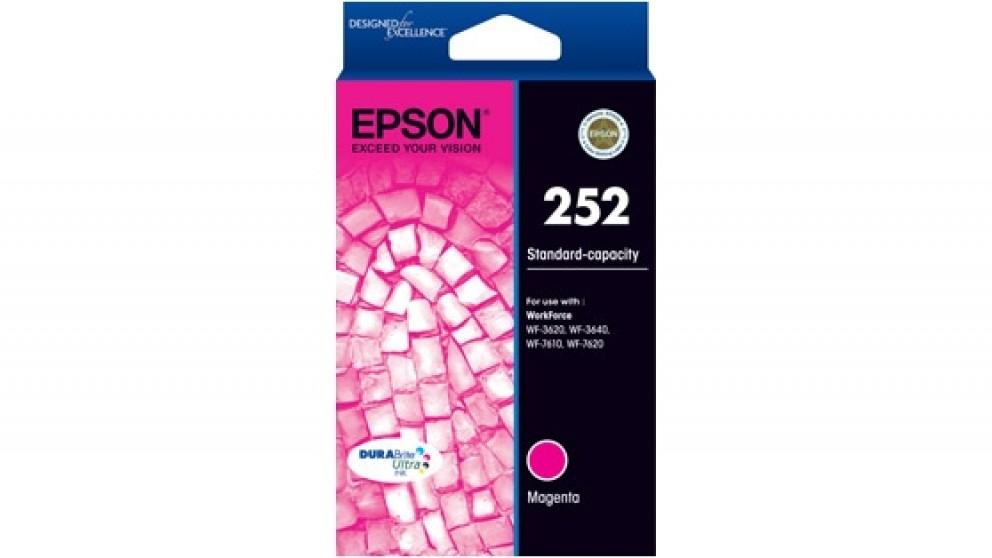 Epson 252 Durabrite Ink Cartridge - Magenta