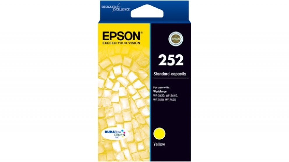 Epson 252 Durabrite Ink Cartridge - Yellow