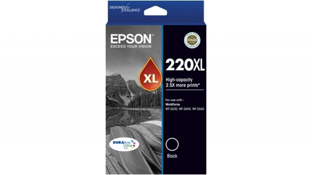 Epson 220XL DURABrite Ultra High Capacity Ink Cartridge - Black