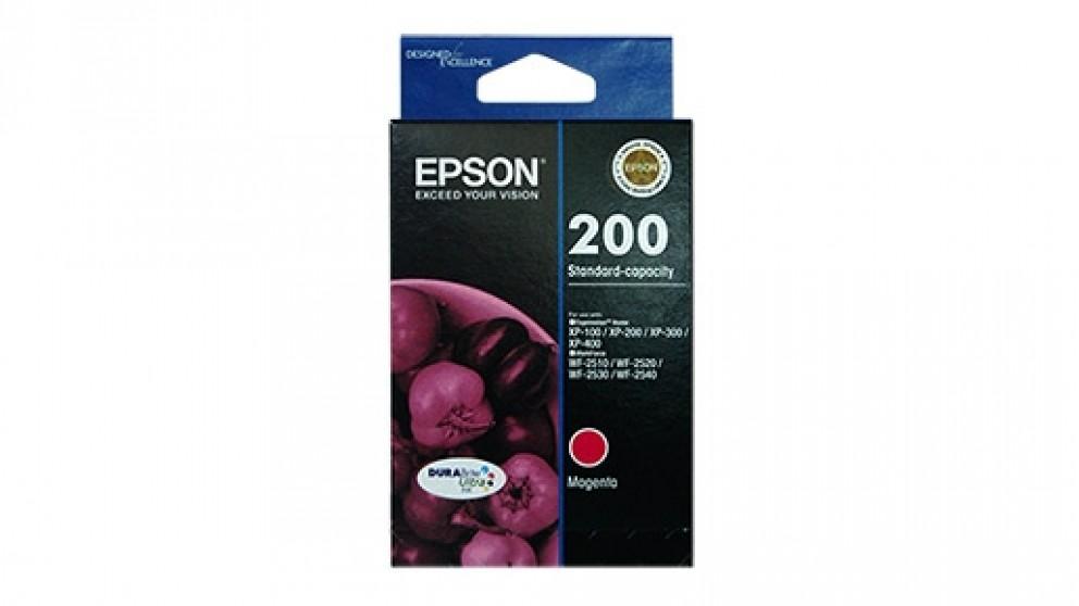 Epson 200 Standard Capacity DURABrite Ultra - Magenta Ink Cartridge