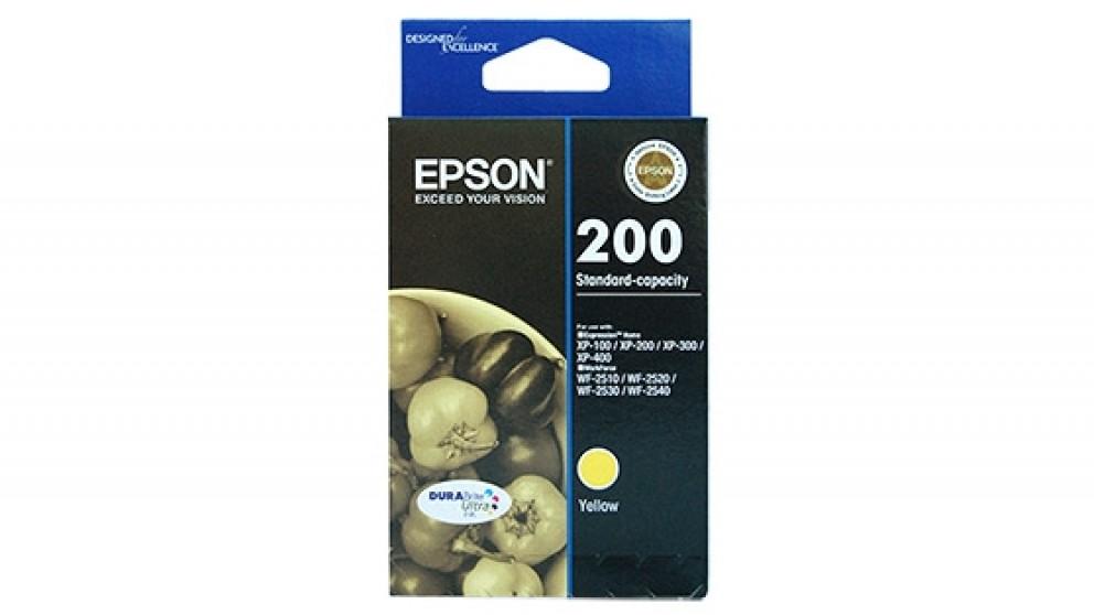 Epson 200 Standard Capacity DURABrite Ultra -Yellow Ink Cartridge