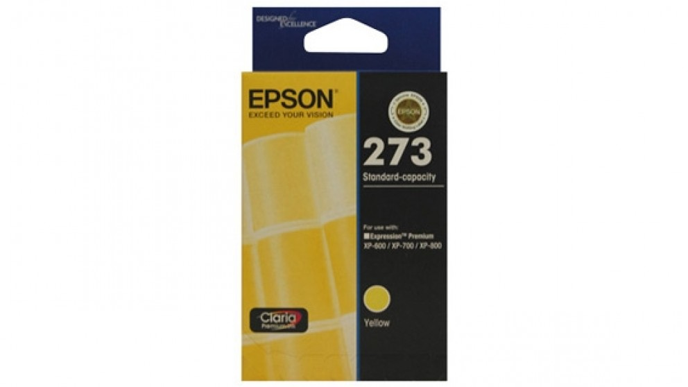 Epson 273 Standard Capacity Claria Premium - Yellow Ink Cartridge