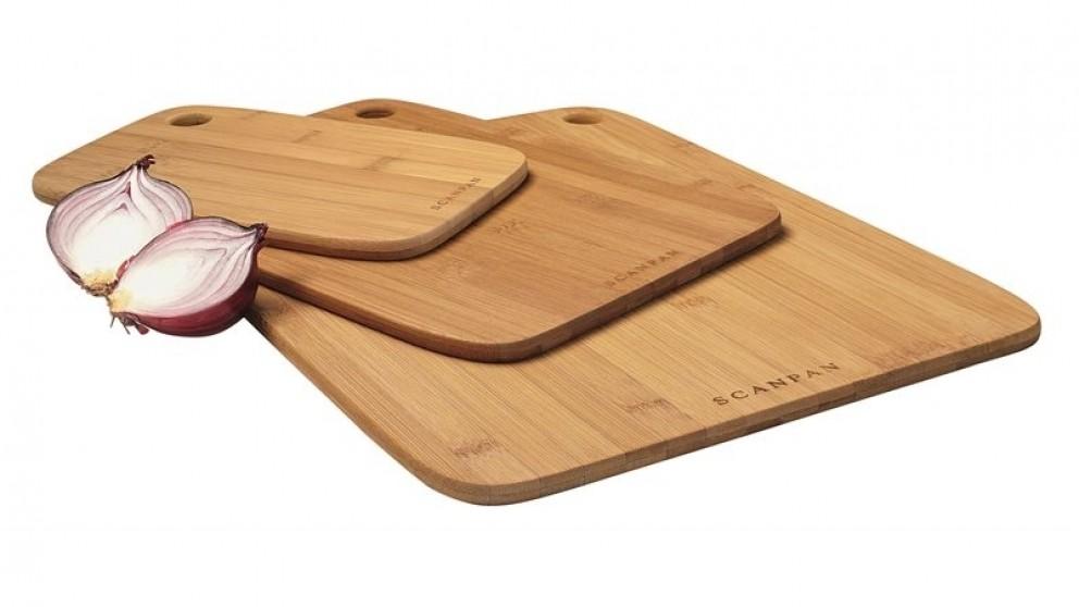 Scanpan 3-Piece Bamboo Cutting Board Set