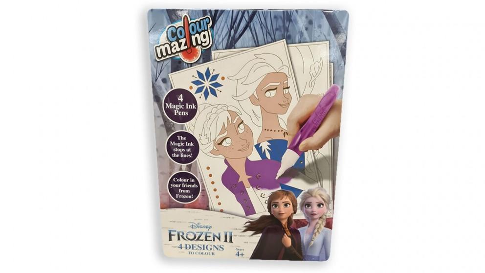 Colour Mazing Magic Ink Pen Set - Frozen 2