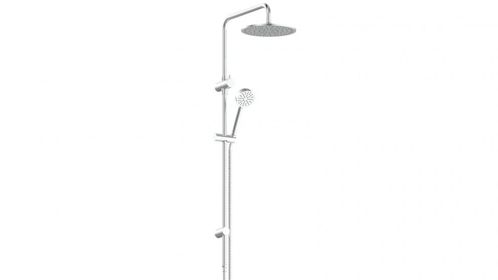 Gisele Twin Shower Rail - Chrome