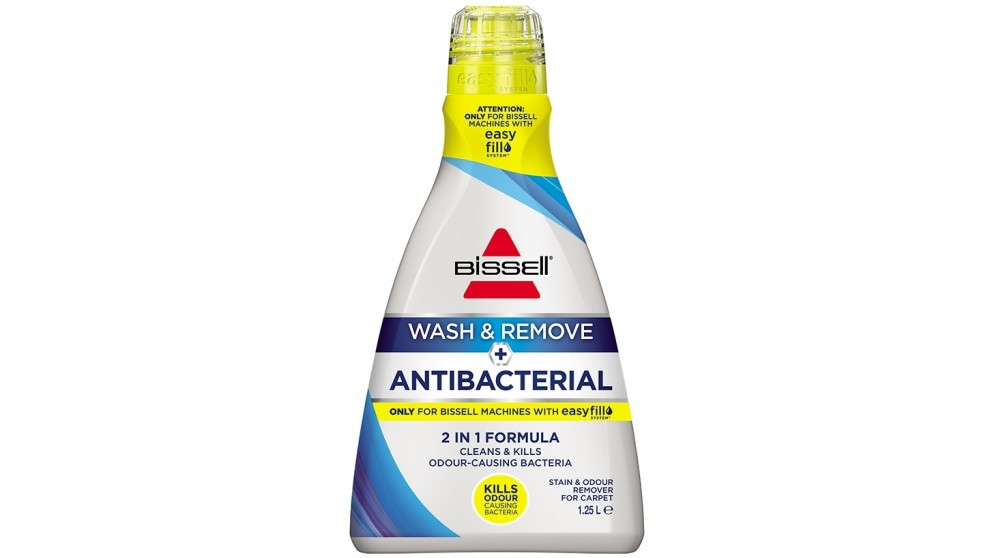 Bissell Wash & Remove + Antibacterial Carpet Cleaning Formula