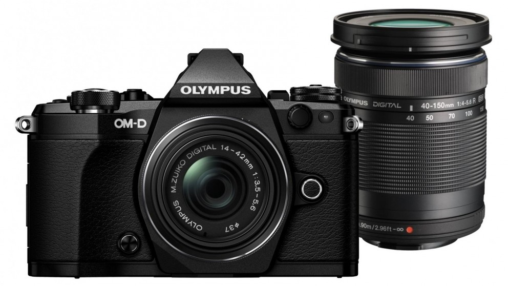 Olympus OM-D E-M5 MKII with 14-42mm + 40-150mm Twin Lens Kit