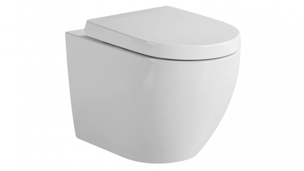 Verotti Luci Zero Wall Faced Toilet Suite
