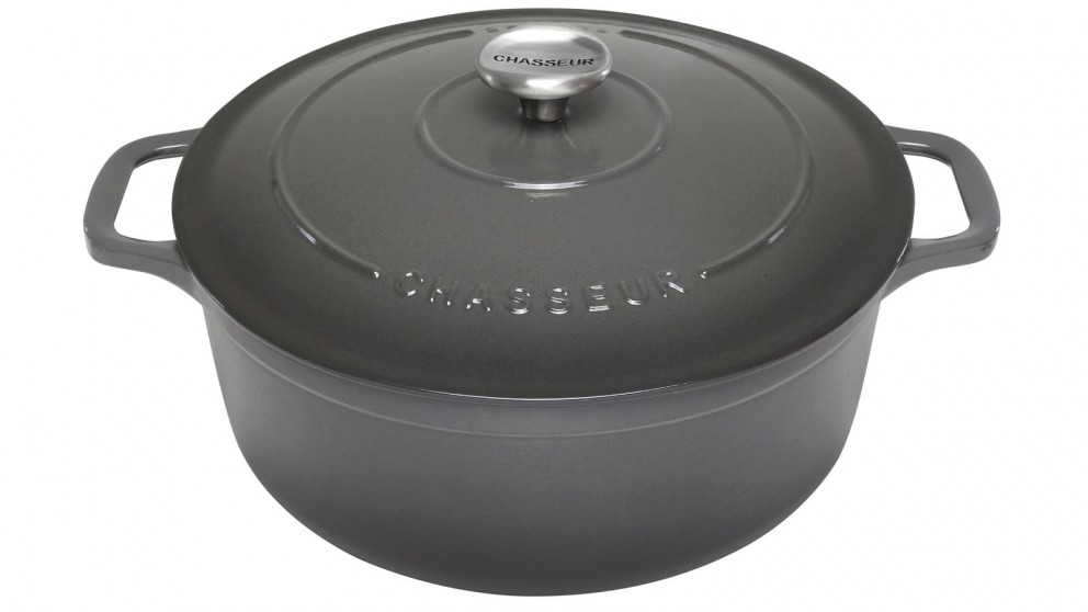 Chasseur 26cm Round French Oven - Caviar
