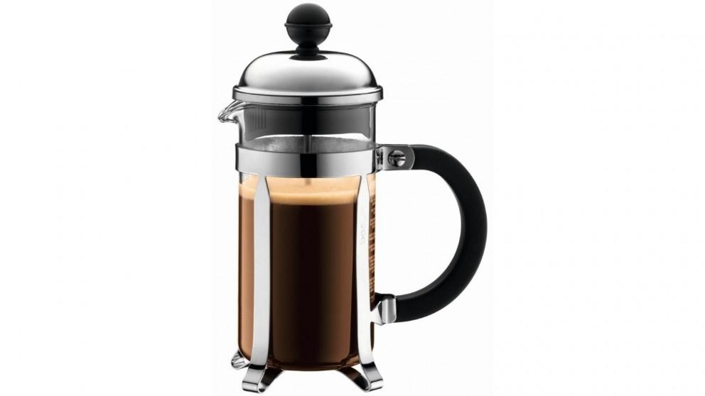 Bodum 350ml Chambord French Press Coffee Maker - Stainless Steel