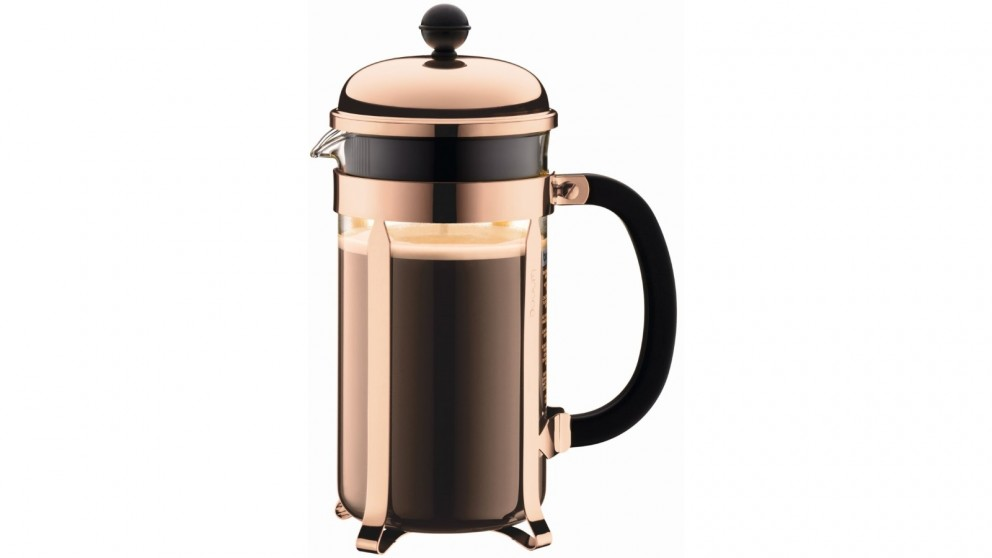 Bodum 1L Chambord French Press Coffee Maker - Copper