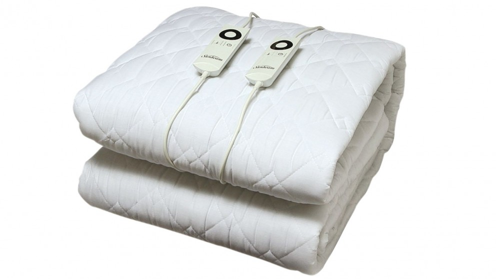 Sunbeam Sleep Perfect Quilted Electric Blanket - King Bed