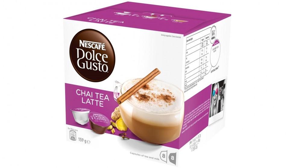 Nescafe Dolce Gusto Chai Latte Coffee Capsules