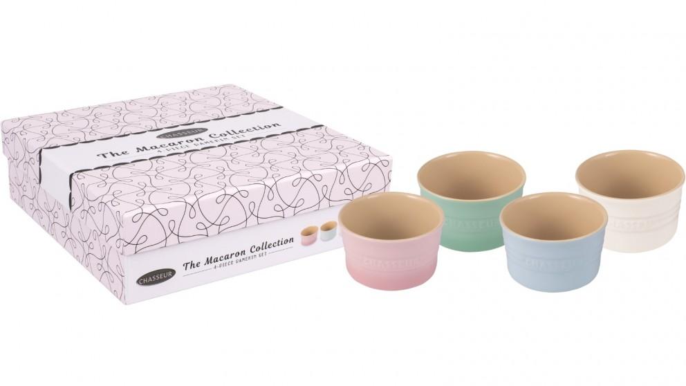 Chasseur Macaron 4-Piece Ramekin Set
